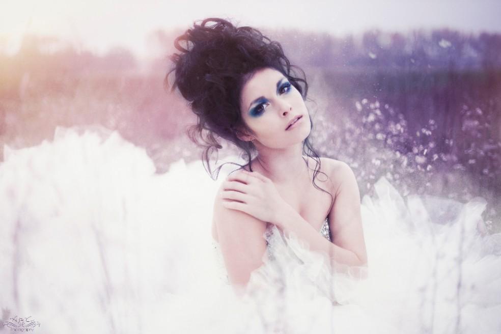 Natalie in white